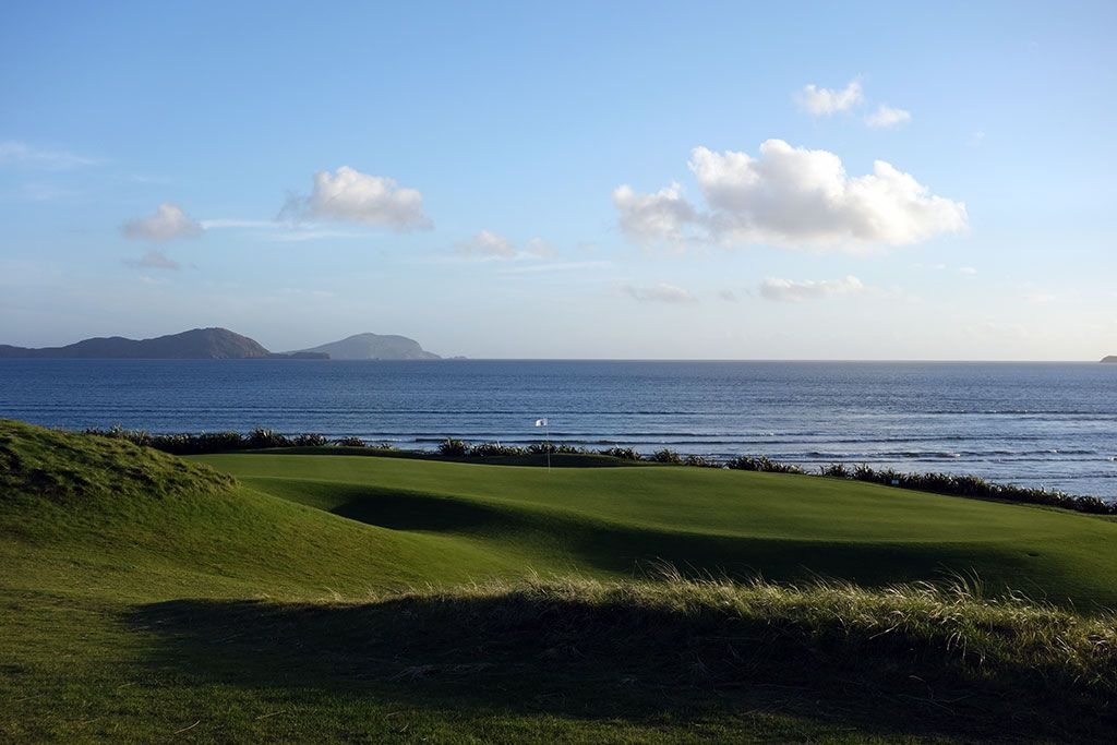 16th Hole at Waterville Golf Links (386 Yard Par 4)