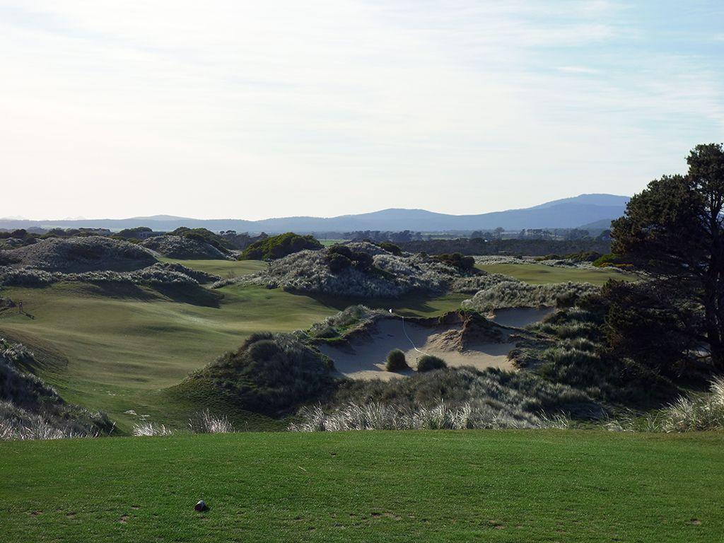 5th Hole at Barnbougle (Dunes) (220 Yard Par 3)